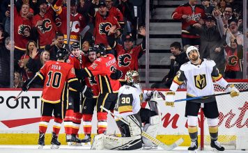 Calgary Flames vs Vegas Golden Knights