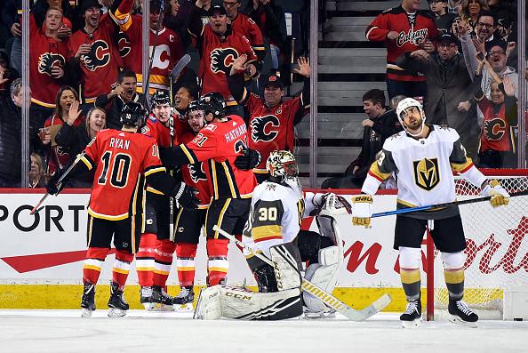 Calgary Flames vs Vegas Golden Knights