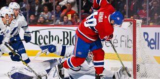 Tampa Bay Lightning vs Montreal Canadiens
