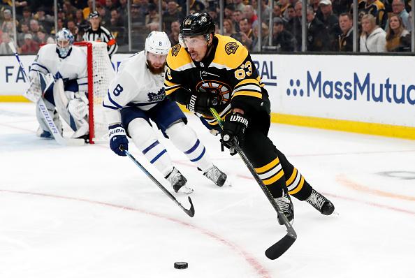 Boston Bruins vs Toronto Maple Leafs