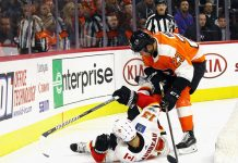 Philadelphia Flyers vs Calgary Flames