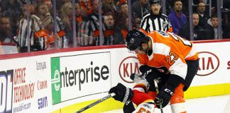 Philadelphia Flyers vs Calgary Flames