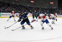 St Louis Blues vs Montreal Canadiens