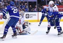 Toronto Maple Leafs vs Washington Capitals