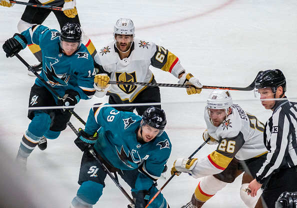 Golden Knights Sharks rivalry