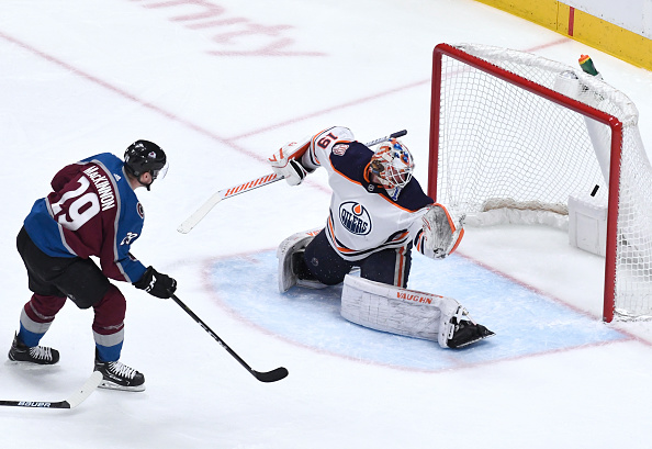 Colorado-avalanche-center-nathan-mackinnon-scores-a-goal-against-picture-id1140033417