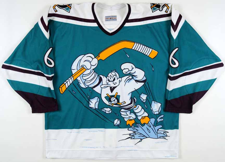 NHL Pacific Division Jerseys