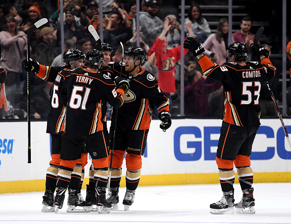 2019-20 Anaheim Ducks