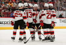 New Jersey Devils without Taylor Hall