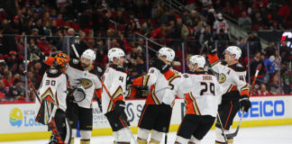 Anaheim Ducks Season