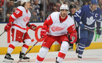 Andreas Athanasiou; 2019-20 Detroit Red Wings