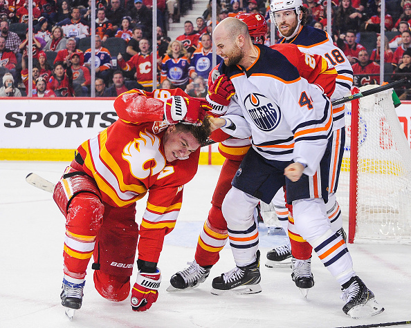 NHL predictions; Zack Kassian; Flames Oilers rivalry