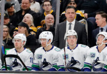Vancouver Canucks homestand