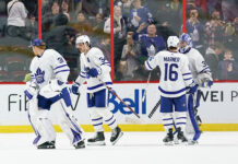 Toronto Maple Leafs winning