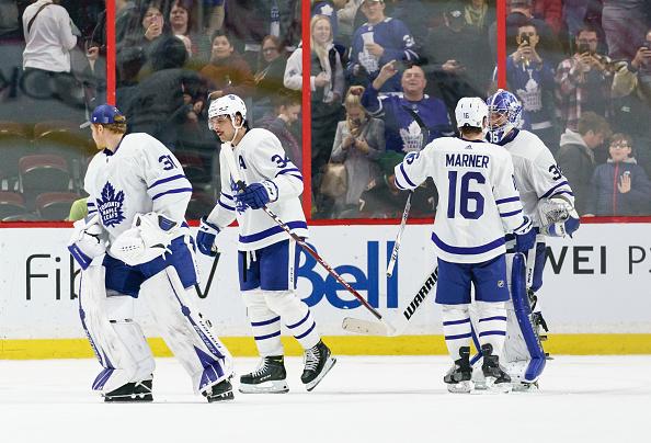 Toronto Maple Leafs winning