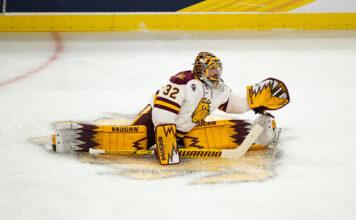 college Hockey free agents, Hunter Shepard