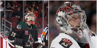 Arizona Coyotes goalies