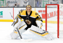 boston bruins goaltending
