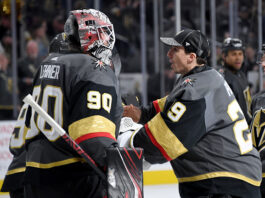 Golden Knights goalie situation