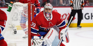 Montreal Canadiens backup goaltender