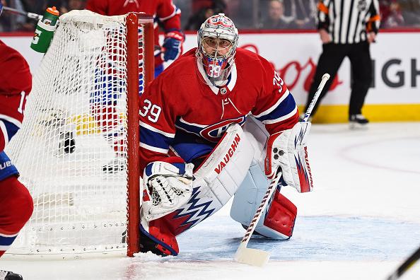 Montreal Canadiens backup goaltender