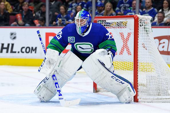 Vancouver Canucks free agent goaltender