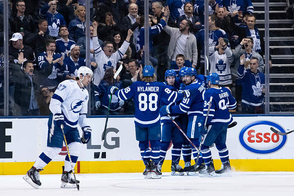 Toronto Maple Leafs black aces