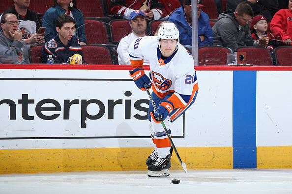 Islanders Black Aces;Kieffer Bellows