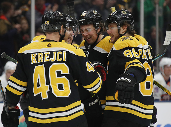 Boston Bruins playoff opponents