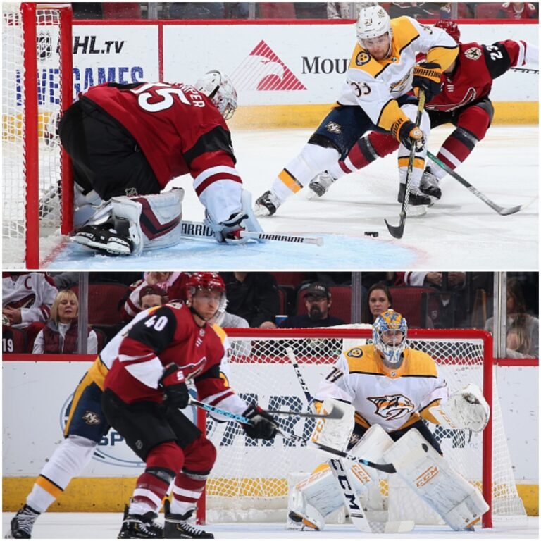 Arizona Coyotes vs Nashville Predators