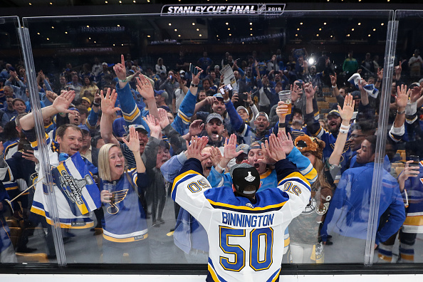 St. Louis Blues playoffs