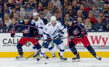 Columbus Blue Jackets vs Tampa Bay Lightning