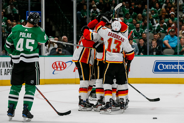 Calgary Flames vs Dallas Stars