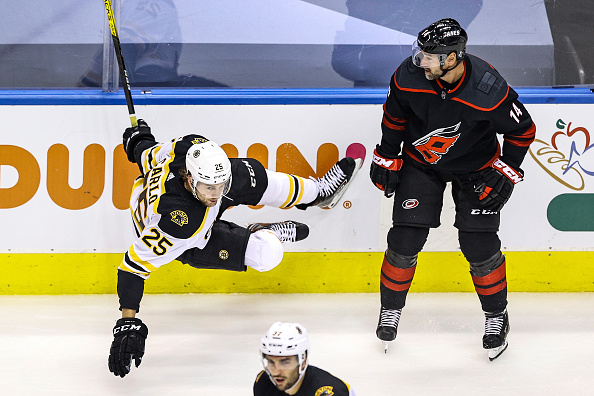 boston bruins and carolina hurricanes