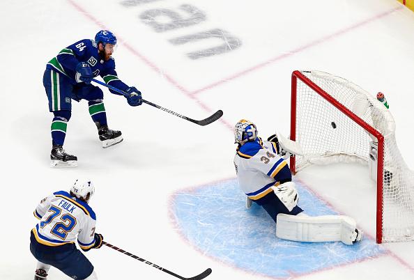 St Louis Blues defence