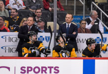 Pittsburgh Penguins coaching staff