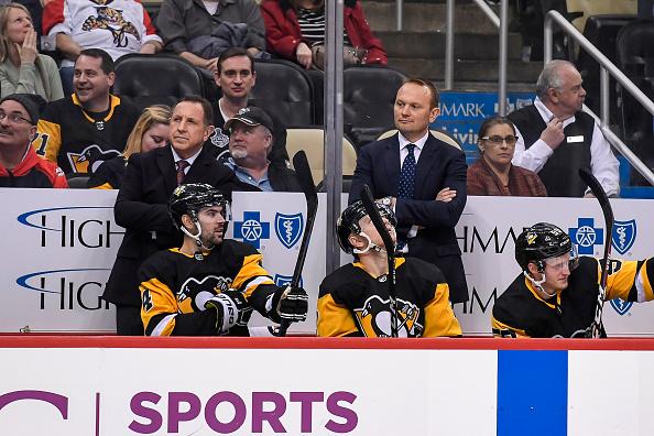 Pittsburgh Penguins coaching staff