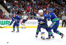 Vancouver Canucks vs St Louis Blues