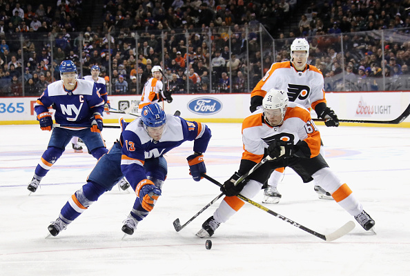 Philadelphia Flyers vs New York Islanders