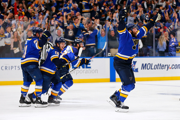 St Louis Blues playoff