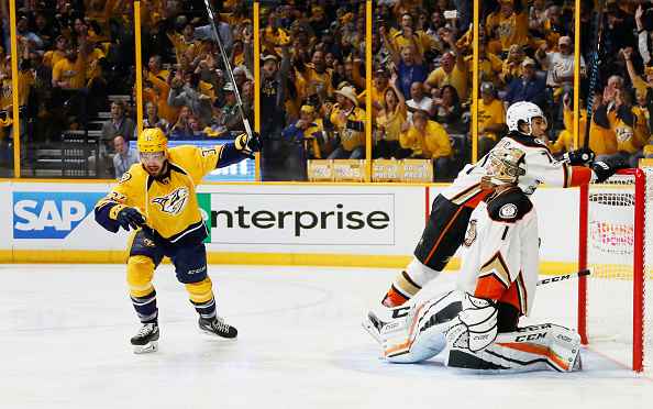 Nashville Predators playoff heroes