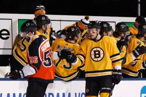Boston Bruins forwards