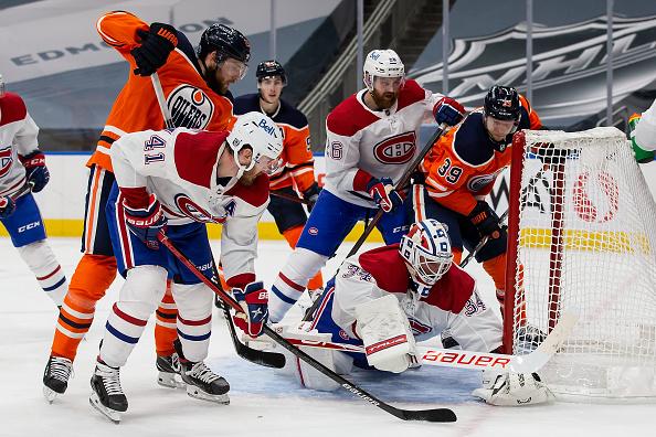 Edmonton Oilers game delayed