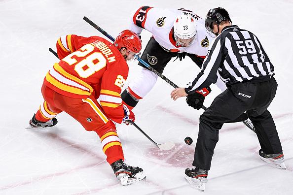 Calgary Flames vs Ottawa Senators