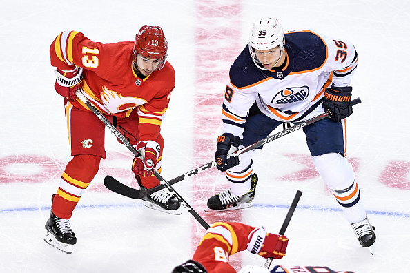 Calgary Flames vs Edmonton Oilers