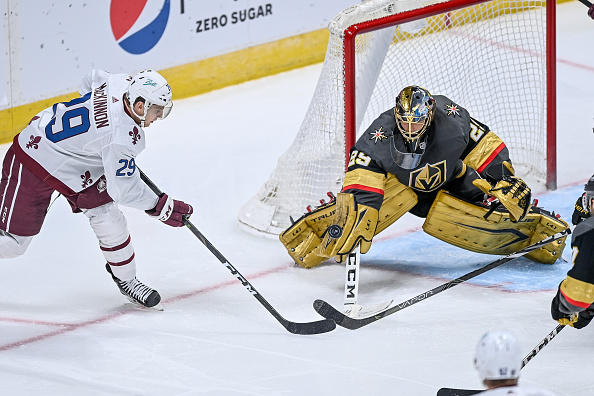 vegas golden knights vs colorado avalanche