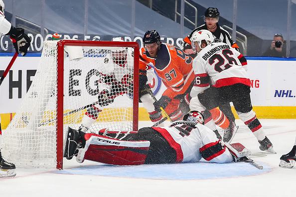 Ottawa Senators vs Edmonton Oilers