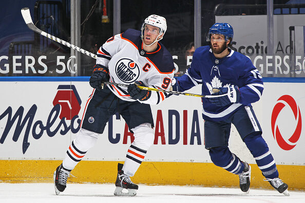 Edmonton Oilers vs Toronto Maple Leafs