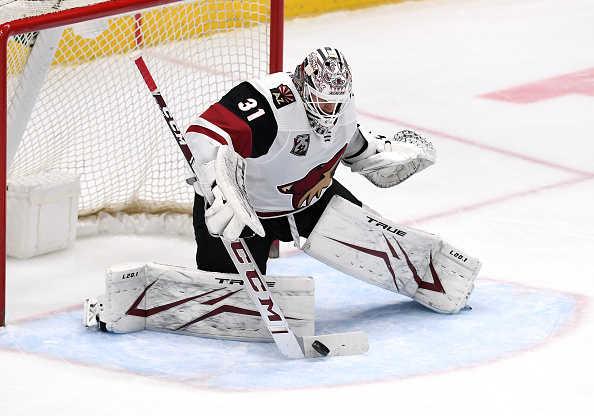 Arizona Coyotes goalie injuries