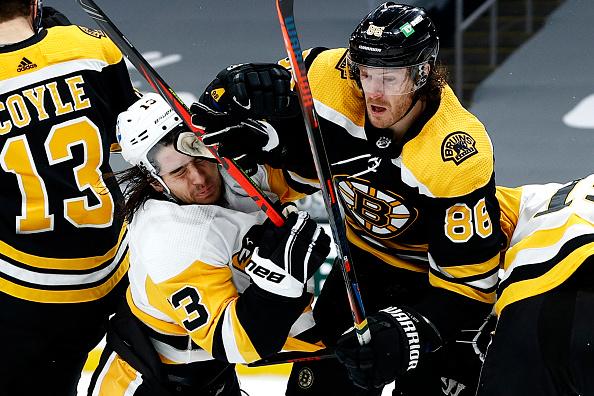 Bosrton Bruins vs Pittsburgh Penguins